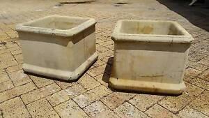 Cement Pots x 2 Rivervale Belmont Area Preview