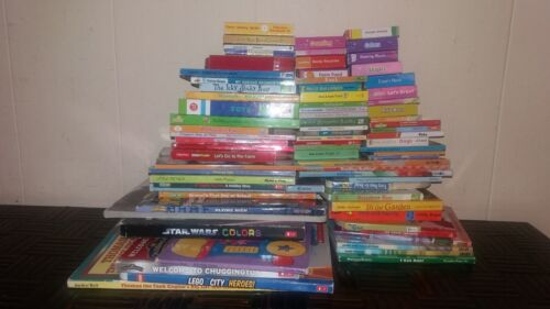LOT OF 75..THICK BABY BOARD BOOKS...CHILDREN BOOKS