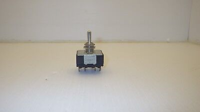 Carling Toggle Switch 10a-250vac 15a-1250vac 34hp 250 Vac 2 Position Switch
