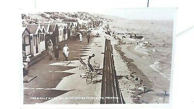 Vintage RP Postcard 1 1/2 Miles of Sea Sand & Beach Bathing...