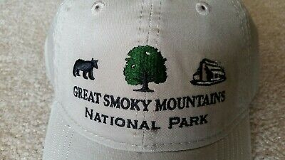 GREAT SMOKEY MOUNTAIN NATIONAL PARK INSIGNIA BASEBALL CAP EXCELLENT APPOINTMENTS