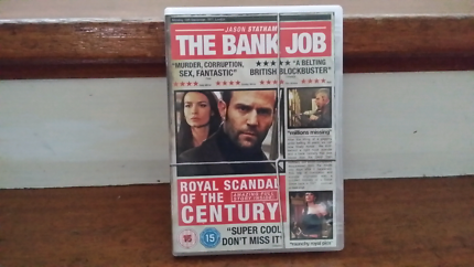 The Bank Job region 2 dvd