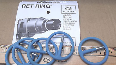 """5 RET RINGS # 21-965-(2-1/16"""" OD)REF#10034 ,NOT IN BOX,MADE IN USA"""