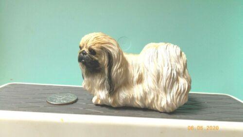 Pekingese Dog Figure