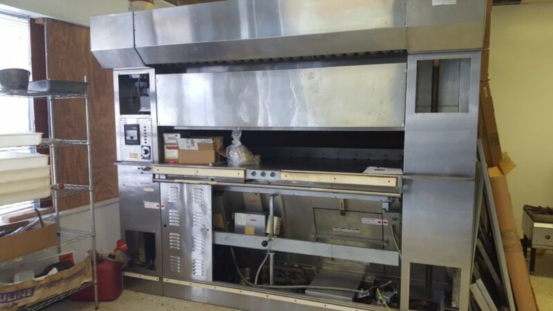baxter revolving tray oven