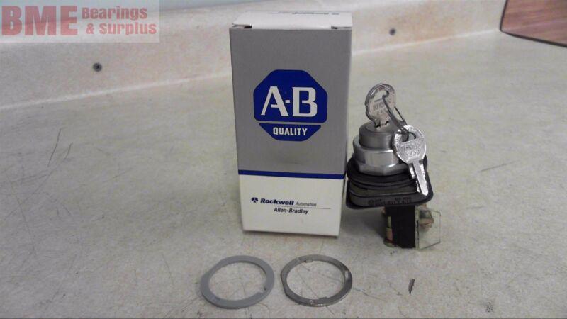 Allen Bradley 800T-E11A Cylinder Lock Push Button Unit