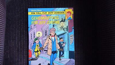 Jeff Jordan Nr 9, Geheimauftrag für Jeff  Jordan  Carlsen 1. Aufl 1988