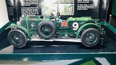 Bentley Blower 4 1/2 Litre 1/18 Diecast Car Minichamps Dealer Edition Model Car