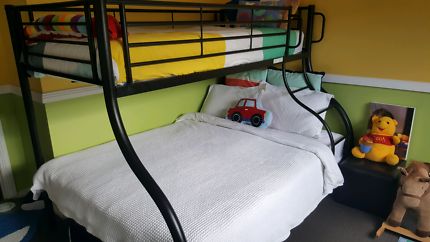 Bunk bed - double and single bunk
