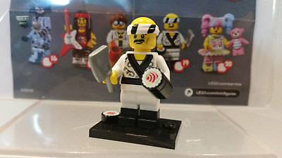 Lego Minifigure Ninjago Series complete Sushi Chef Figure 2017