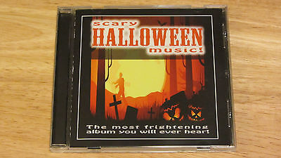 Scary Halloween Music Songs CD The Most Frightening Album You Will Ever Hear  - Halloween Music Songs