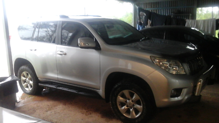 Toyota Landcruiser Prado 2010 turbo diesel Bungalow Cairns City Preview