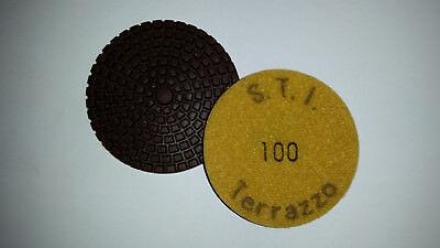 Sti Terrazzo M Pads - 100 Grit - 3 - Terrazzo And Concrete Polishing Pads