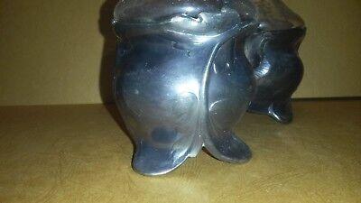 Huilier vinaigrier art nouveau jugendstil gallia silver métal essig menage