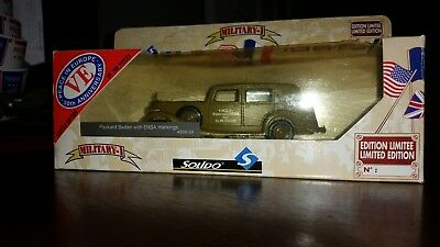 Solido Packard Sedan w/ ENSA Markings 4595/09 780 Ltd. Ed. Die-cast1:43 NIB