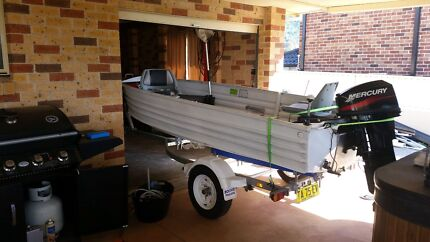 14ft tinny 25hp mercury outboard Albion Park Shellharbour Area Preview
