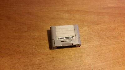Nintendo 64 original Controller Pak NUS-004 (64 Controller Pak)