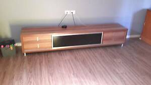 Timber style tv unit Wynnum West Brisbane South East Preview