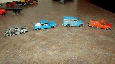 Vintage Lot 4 Diecast Cars Matchbox,Land Rover Safari,Camper,Volkswagen, segunda mano  Embacar hacia Mexico