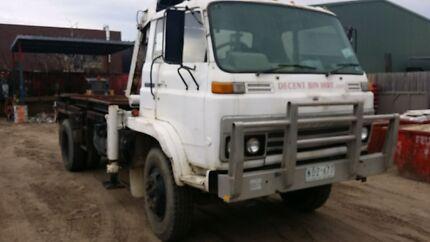 Crane Truck - 1980 Isuzu Clayton South Kingston Area Preview