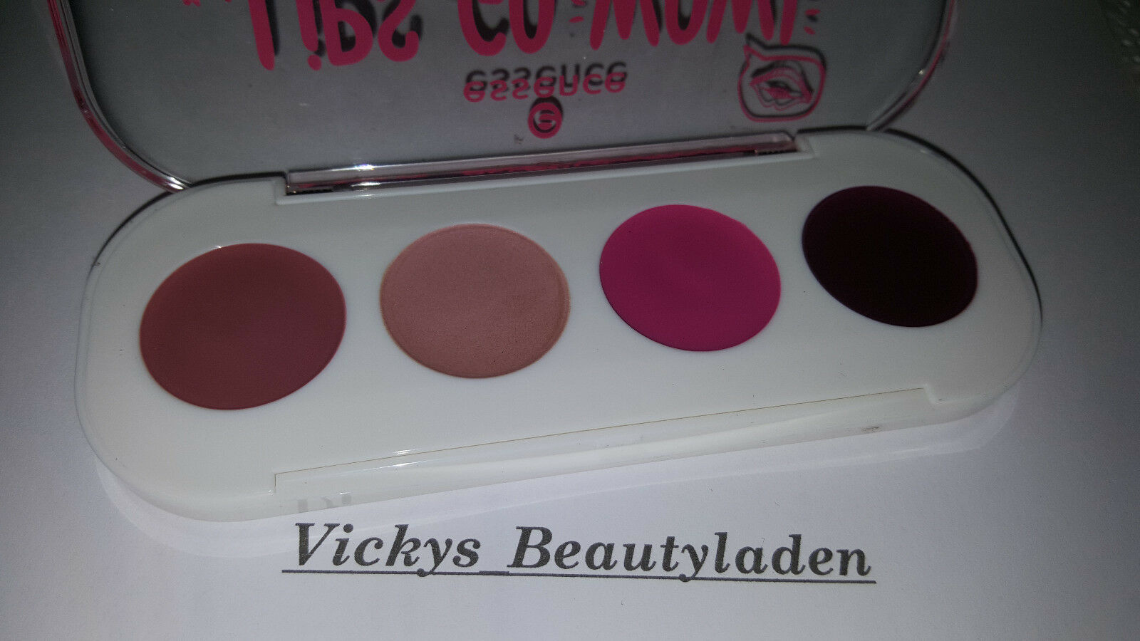 Essence Lips Go Wow Lip Art Palette 02 Be an Artist Creme to Powder Lippenstift