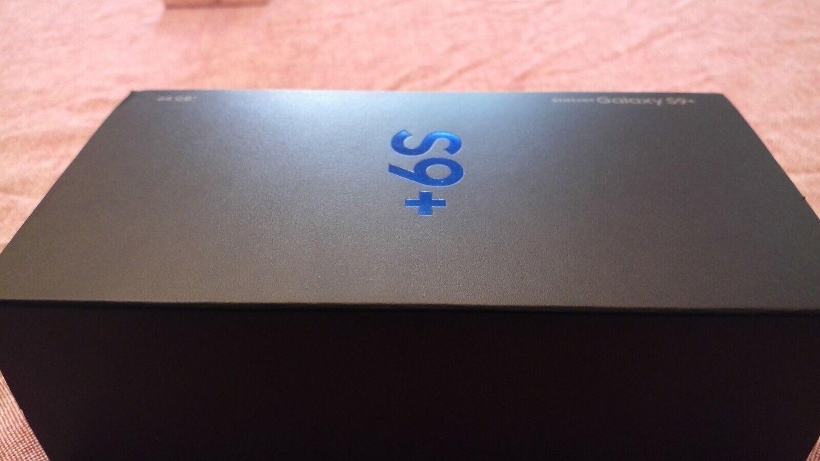 Samsung Galaxy S9+ Unlocked Smartphone - Midnight Black - US