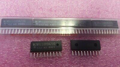 1x Motorola Mcm511000az10 Ic Fast Page Dram 1mx1 100ns Cmos Pzip-20