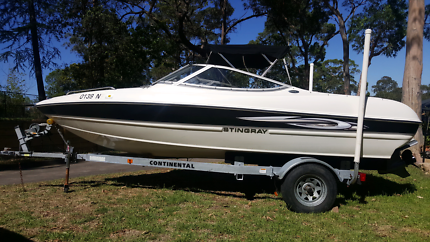 Stingray 185 LS bowrider 2008 with trailer