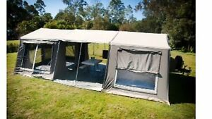 Camptime off-road camper with 3 rooms Worongary Gold Coast City Preview