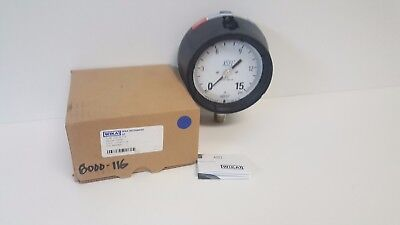 New Old Stock Wika 15psi 12npt 232.34 4.5 Pressure Gauge 9834800