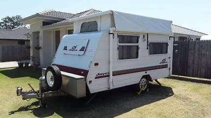 2001 JAYCO FREEDOM 2BTH P/TOP 12.8FT X 7.1FT, ISLAND BED, R/ENTRY