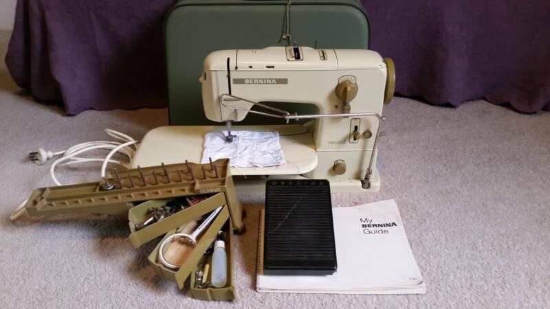 Bernina Record 730 Vintage Sewing Machine | Sewing