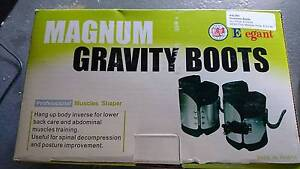 Magnum Professional Gravity Boots Inversion Boots Steel Black L20 Redfern Inner Sydney Preview