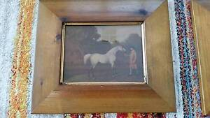 Lovely Set of 4 Racing Horse Pictures Rockingham Rockingham Area Preview