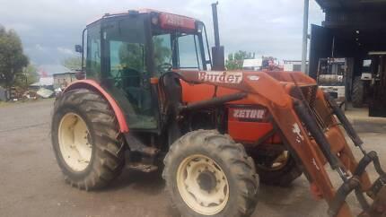 Zetor tractor 4wd loader