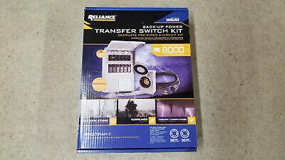 Reliance Controls 8000 Watt 6-circuit Generator Transfer Switch Model 306lrk