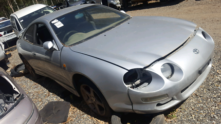 1997 TOYOTA CELICA SILVER FOR WRECKING
