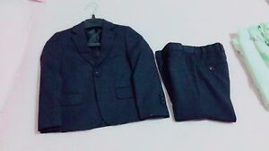 Boy's formal suit, pant with 2 shirts tie size 5 - wore once