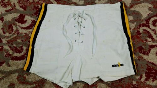 Vtg Spanjan 70s Athletic Track Fitness Shorts 32 Made in USA