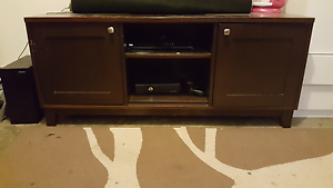 Brown TV unit Glendenning Blacktown Area Preview