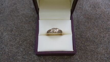 9ct Yellow Gold Diamond Ring Craigmore Playford Area Preview