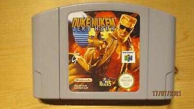 Duke Nukem Zero Hour for Nintendo 64 N64. Cart Only. Pal