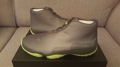 Nike Air Jordan Future 3M Dark Grey / Volt / Reflective - UK 10