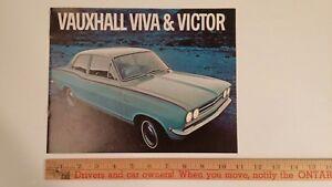 1969-VAUXHALL-Color-Dealer-Sales-Catalog-Excellent-Condition-CDN