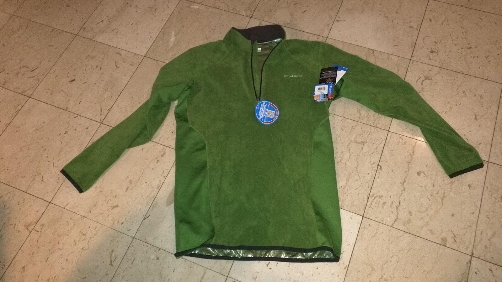 snow ski winter Columbia Men's Heat 360 II™ 1/2 Zip Jacket