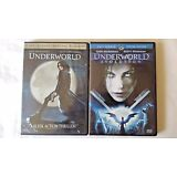 Lot of 2 Underworld Underwold Evolution Horror Thriller DVD Movie
