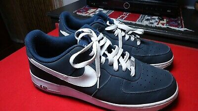 buy online 79dc7 61479 Nike Air Force 1 Low Obsidian White 488298-421 Sz 13