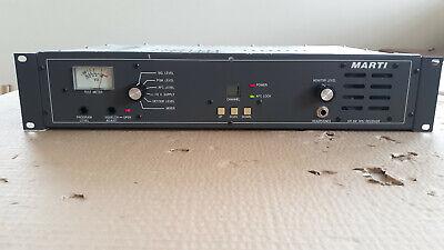 Marti SR-10E Frequency Agile Remote Receiver