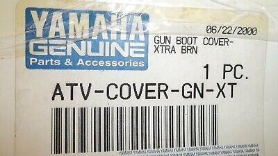 Yamaha OEM New camo gun boot cover ATV-COVER-GN-XT (Camo Boot Covers)