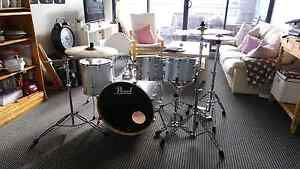 Price Reduction! DRUM KIT - Pearl Export 5 Piece with Cymbals Zetland Inner Sydney Preview